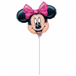 "9"" Minnie Mouse Mini Shape Balloons"
