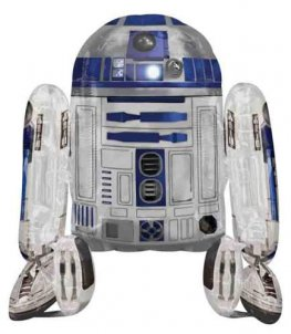 Star Wars R2D2 Airwalker Air Fill Balloons