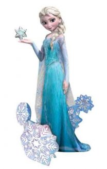 Frozen Elsa The Snow Queen Airwalker Balloons