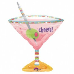 Olives Martini Glass Supershape Balloons
