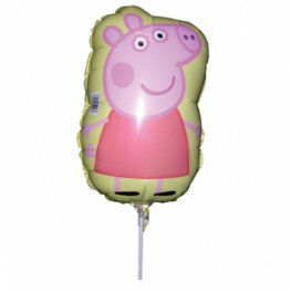 "9"" Peppa Pig Mini Shape Balloons"