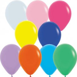 "5"" Fashion Assorted Latex Balloons 100pk"