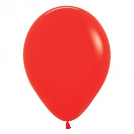 "5"" Fashion Red Latex Balloons 100pk"