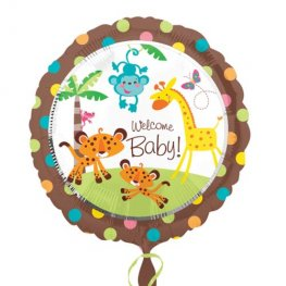 "18"" Welcome Baby Fisher Price Foil Balloons"