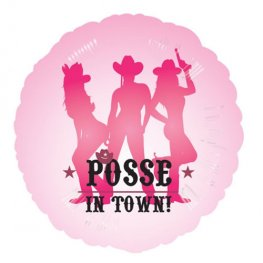 "18"" Hen Night Party Posse Foil Balloons"