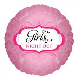 "18"" Girls Night Out Rose Foil Balloons"
