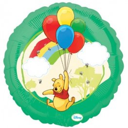 "18"" Winnie The Pooh Non Message Foil Balloons"