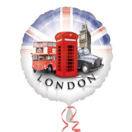 "18"" London Icons Foil Balloons"