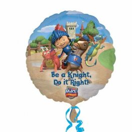 "18"" Mike The Night Do It Right Foil Balloons"