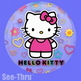 Hello Kitty See Thru Foil Balloons
