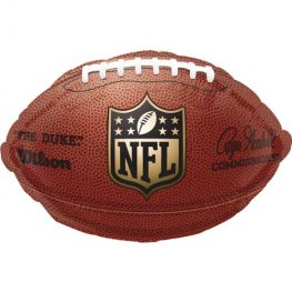 "12"" NFL Football Junior Shape Foil Balloons"
