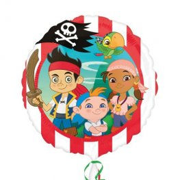 "18"" Jake And The Neverlands Pirates Foil Balloons"