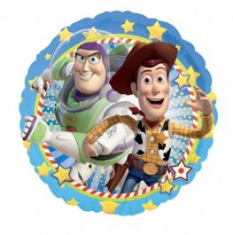 "18"" Toy Story Woody And Buzz Foil Balloons"