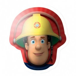 Fireman Sam Head Supershape Balloons