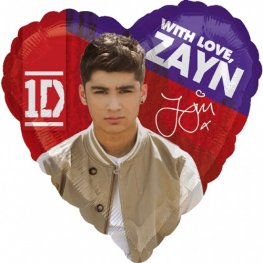 "18"" Zayn One Direction Foil Balloons"