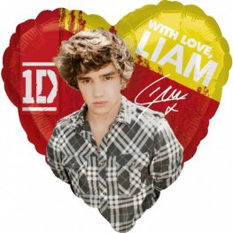 "18"" Liam One Direction Foil Balloons"