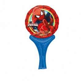 "6"" Spider Man Inflate A Fun Air Filled Foil Balloons"