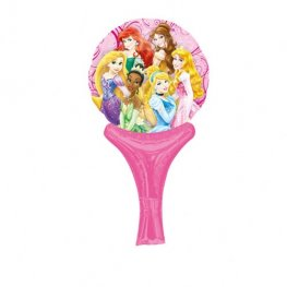 "6"" Disney Princesses Inflate A Fun Air Filled Foil Balloons"