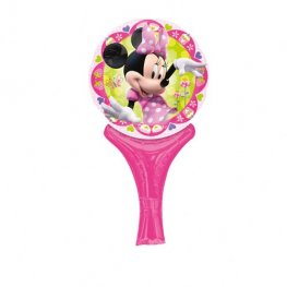 "6"" Disney Minnie Mouse Inflate A Fun Air Filled Foil Balloons"