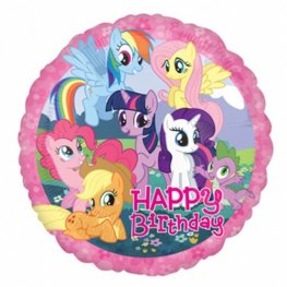 "18"" My Little Pony Happy Birthday Foil Balloons"