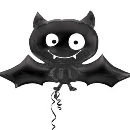 Halloween Black Bat Supershape Balloons