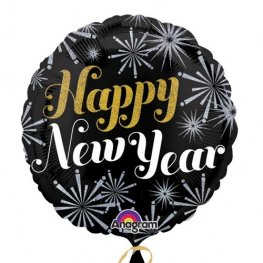 "18"" New Year Pizazz Foil Balloons"