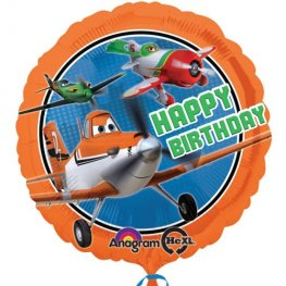 "18"" Disney Planes Happy Birthday Foil Balloons"