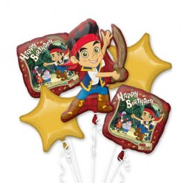 Jake And The Neverland Pirates Balloons Bouquet