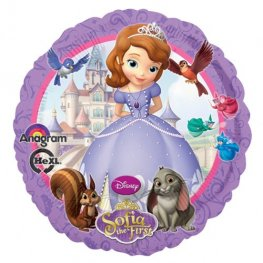 "18"" Sofia The First Foil Balloons"