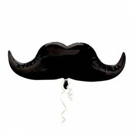 Moustache Supershape Balloons