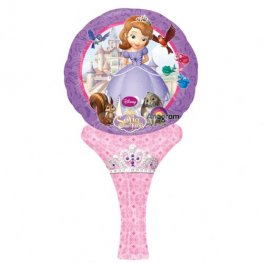 "6"" Disney Sofia The First Inflate A Fun Air Filled Foil Balloons"