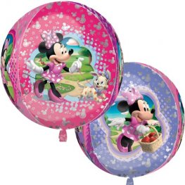 Minnie Mouse Orbz Foil Balloons