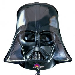 Darth Vader Black Helmet Supershape Balloons