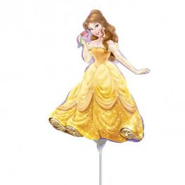 "14"" Princess Belle Mini shape Balloons"