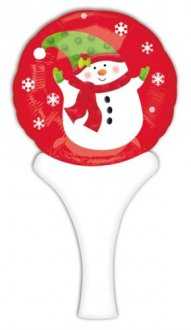 "6"" Snowman Inflate A Fun Air Filled Foil Balloons"