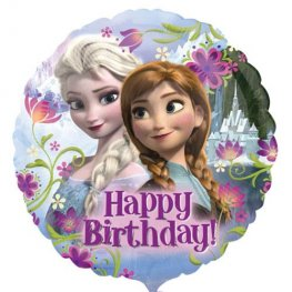 "18"" Frozen Happy Birthday Foil Balloons"