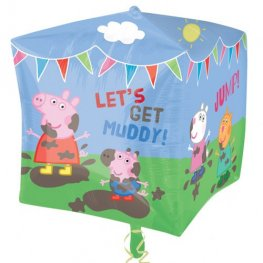 Peppa Pig And Friends Cubez Foil Balloons