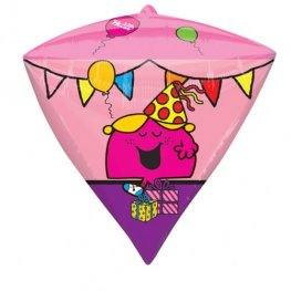 Little Miss And Friends Diamondz Foil Balloons