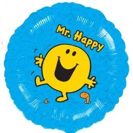 "18"" Mr Happy Foil Balloons"