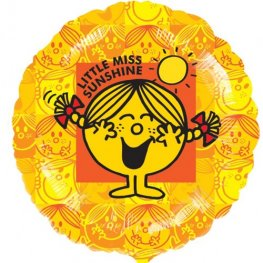 "18"" Little Miss Sunshine Foil Balloons"