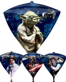 Star Wars Diamondz Foil Balloons