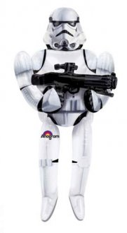 Star Wars Storm Trooper Airwalker Balloons