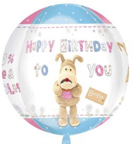Boofle Happy Birthday Orbz Foil Balloons