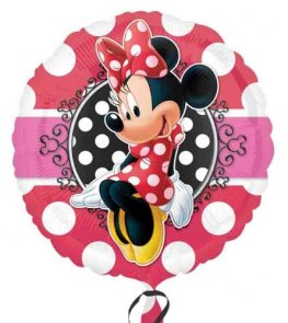 "18"" Minnie Mouse Portrait Foil Balloons"