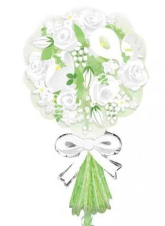 Bouquet For The Bride Supershape Balloons