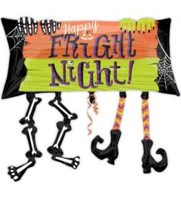 Happy Fright Night Legs Supershape Balloons