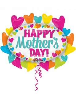 Happy Mothers Day Marquee Supershape Balloons