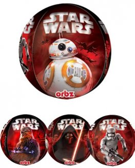 Star Wars The Force Awakens Orbz Balloons