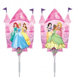 "14"" Disney Princess Castle Mini Shape Balloons"