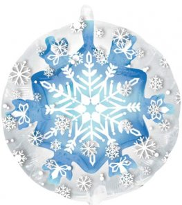 "24"" Snowflake Insiders Foil Balloons"